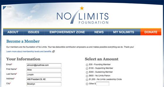 No Limits Foundation