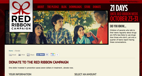 Red Ribbon Campaign