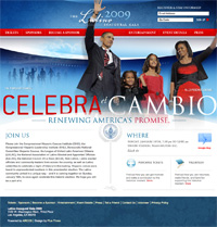 The Latino Inaugural Gala 2009