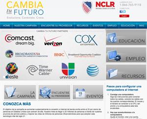 Cambia tu Futuro Homepage